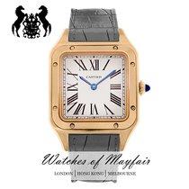 Cartier Santos Dumont Rose gold 38mm Silver United Kingdom, London