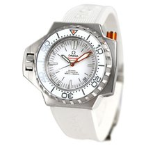 Omega Seamaster PloProf Staal 48mm Wit