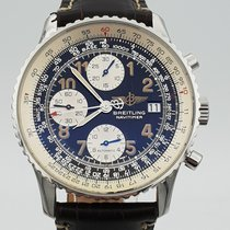 Breitling Old Navitimer Steel 41.5mm Blue Arabic numerals United States of America, New Jersey, Long Branch