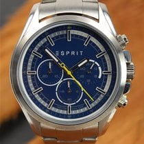 Esprit Steel 44mm Quartz 109161 pre-owned