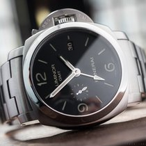 Panerai Luminor GMT Automatic Zeljezo 45mm Crn