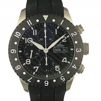 Hacher Chronograph 43mm Automatic new Black