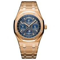 Audemars Piguet Royal Oak Perpetual Calendar Rose gold 41mm Blue United States of America, Pennsylvania, Holland