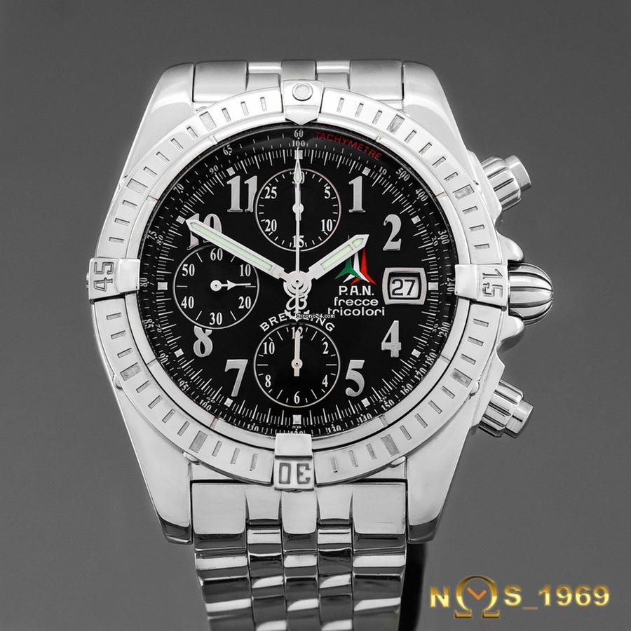 77776f028f1 Breitling Chronomat Evolution 44mm PAN Frecce Tricolori Limit.Ed. for   4