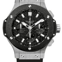 Hublot Big Bang 44 mm Acero 44mm Negro Sin cifras