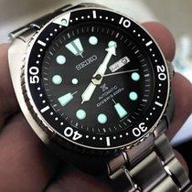Seiko ProspeX Turtle Automatic 200m Diver Blue Bezel SRP773K1...