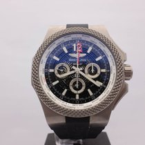Breitling Titanium Automatic Black 49mm pre-owned Bentley GMT
