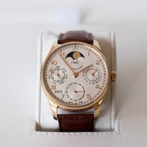 IWC Portugese perpetual calendar from '08 with box and papers