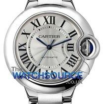 Cartier Ballon Bleu 33mm Steel 33mm Silver Roman numerals United Kingdom, Hemel Hempstead, Hertfordshire
