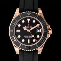 Rolex Yacht-Master 37 Rose gold 37mm Black United States of America, California, San Mateo