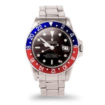 Rolex 1675 Acero GMT-Master 40mm