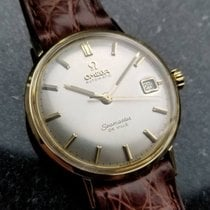Omega Seamaster Deville Solid 14k Gold Swiss 1960s Automatic...