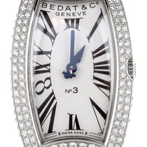 Bedat & Co Steel 22mm Quartz 384 pre-owned