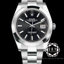 Rolex Datejust Acier 41mm Noir