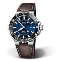 Oris Aquis GMT Date Steel
