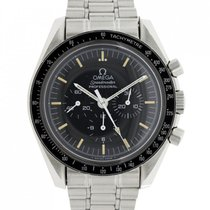 Omega Speedmaster Professional Moonwatch Acciaio 40mm Nero Italia, Roma