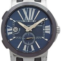 Ulysse Nardin Ceramic Automatic Blue 43mm Executive Dual Time