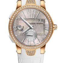 Ulysse Nardin Executive Dual Time Lady 246-10B/391 new