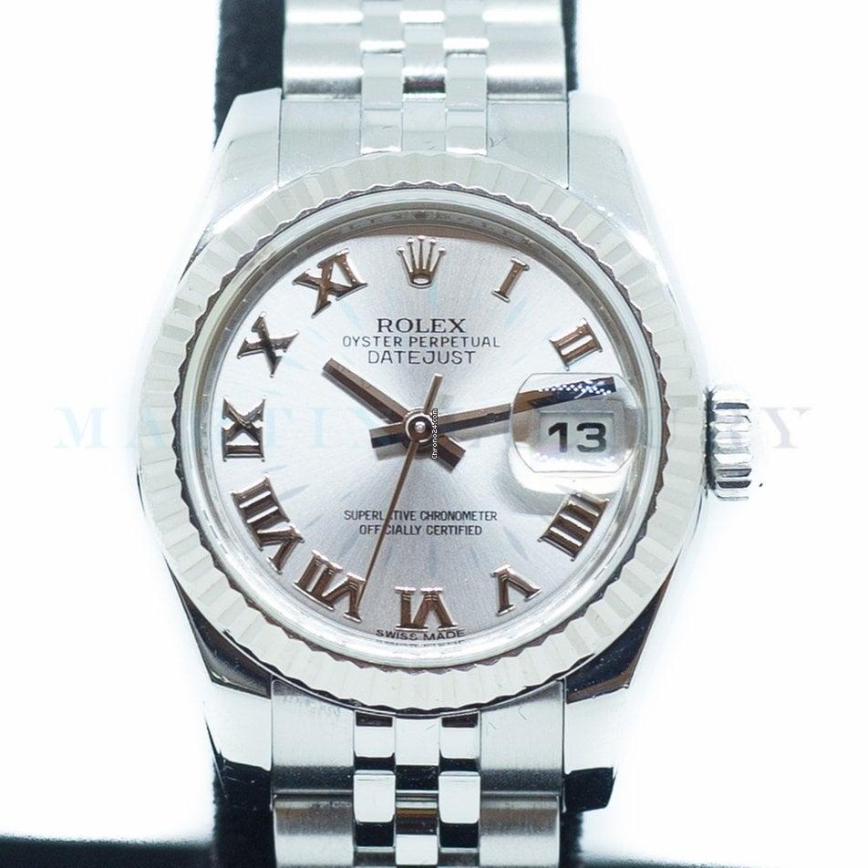 Rolex Ladies Datejust Oyster Perpetual Ref179174 4Lq35RjA