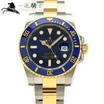 Rolex 116613LB Steel Submariner Date 40mm pre-owned