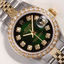 Rolex Lady-Datejust Otel 26mm Verde