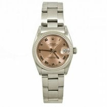 Rolex Lady-Datejust pre-owned 31mm Pink Date Steel