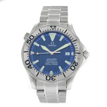 Omega Seamaster Diver 300 M Steel 41mm Arabic numerals United States of America, New York, New York