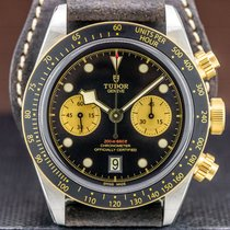 Tudor Black Bay Chrono Steel 41.5mm Black Arabic numerals United States of America, Massachusetts, Boston