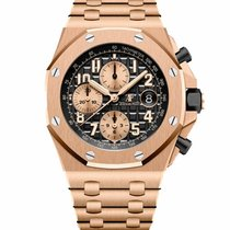 Audemars Piguet Royal Oak Offshore Chronograph Rose gold 42mm Black Arabic numerals United States of America, New York, NEW YORK