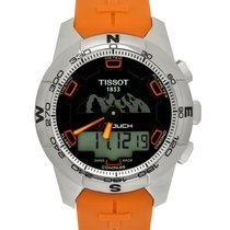 Tissot Titanium Quartz Black 43mm new T-Touch II
