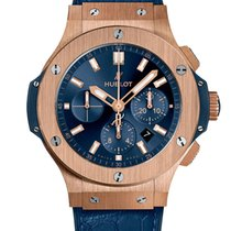 Hublot Big Bang 44 mm Oro rosa 44mm Azul
