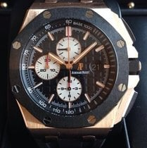 Audemars Piguet Royal Oak Offshore Chronograph Roségold 44mm Schwarz Keine Ziffern Deutschland, Rheinstetten - Karlsruhe