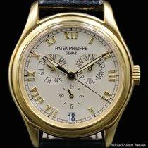 Patek Philippe Ref# 5035, Yellow Gold, Annual Calendar
