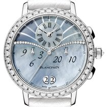Blancpain Women White gold 38.6mm United States of America, New York, Airmont