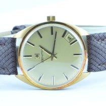 제니트 (Zenith) Herren Uhr Vintage Handaufzug 18k 750 Gold Top...