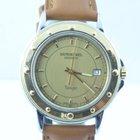 Uhren Kölbel omega seamaster herren uhr stahl gold quartz 36mm schöner zustand