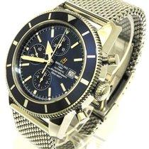 Breitling Superocean Heritage Chronograph 46  Blau A13320 Aus...