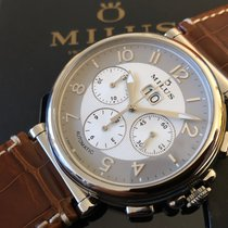 Milus Steel 45mm Automatic ZETC-SP01 (ZETC007) new