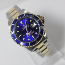 Rolex Submariner Date 16613 Steel Gold Blue/Purple Dial