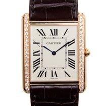 Cartier Tank Louis Cartier neu Handaufzug Uhr mit Original-Box und Original-Papieren WT200005