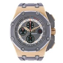 オーデマピゲ Offshore Michael Schumacher 18K Rose Gold  Titanium Watch