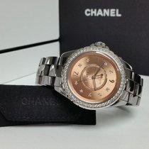 Chanel J12 Céramique 38mm Rose