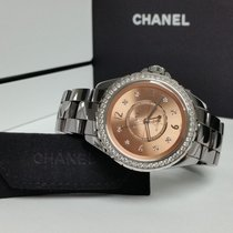 Chanel J12 CHROMATIC AUTOMATIC ROSE/PINK FACTORY DIAMONDS 38