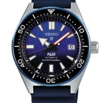 Seiko Prospex Steel 42,60mm Blue No numerals