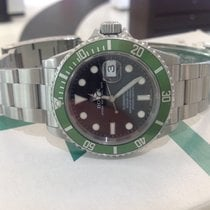 Rolex Submariner Date Anniversary Green (service papers...