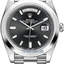 Rolex Day-Date 40 Platinum 40mm Black United States of America, New York, Airmont