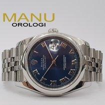 Rolex Datejust Blu Full Set Like New Ref.116200