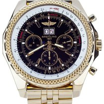 Breitling Bentley 6.75 pre-owned 47mm Yellow gold
