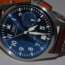 IWC Steel Automatic Blue Arabic numerals 46mm pre-owned Big Pilot