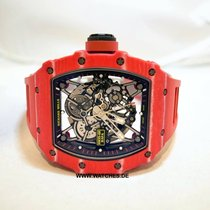 Richard Mille Carbone 49.9mm Remontage automatique RM35-02 FQ nouveau
